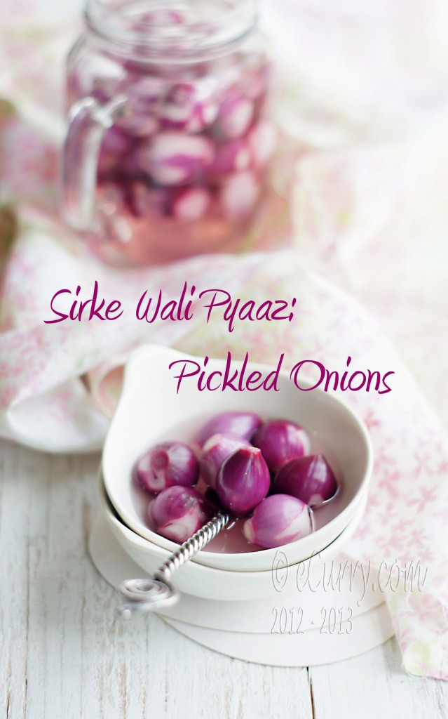 Sirke Wali Pyaaz: Pickled Onions – The Indian Restaurant Way ...