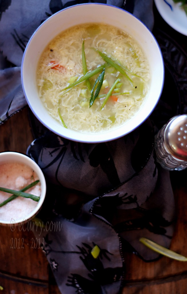 The Egg Drop Soup happens to be one of basic and most comforting of ...