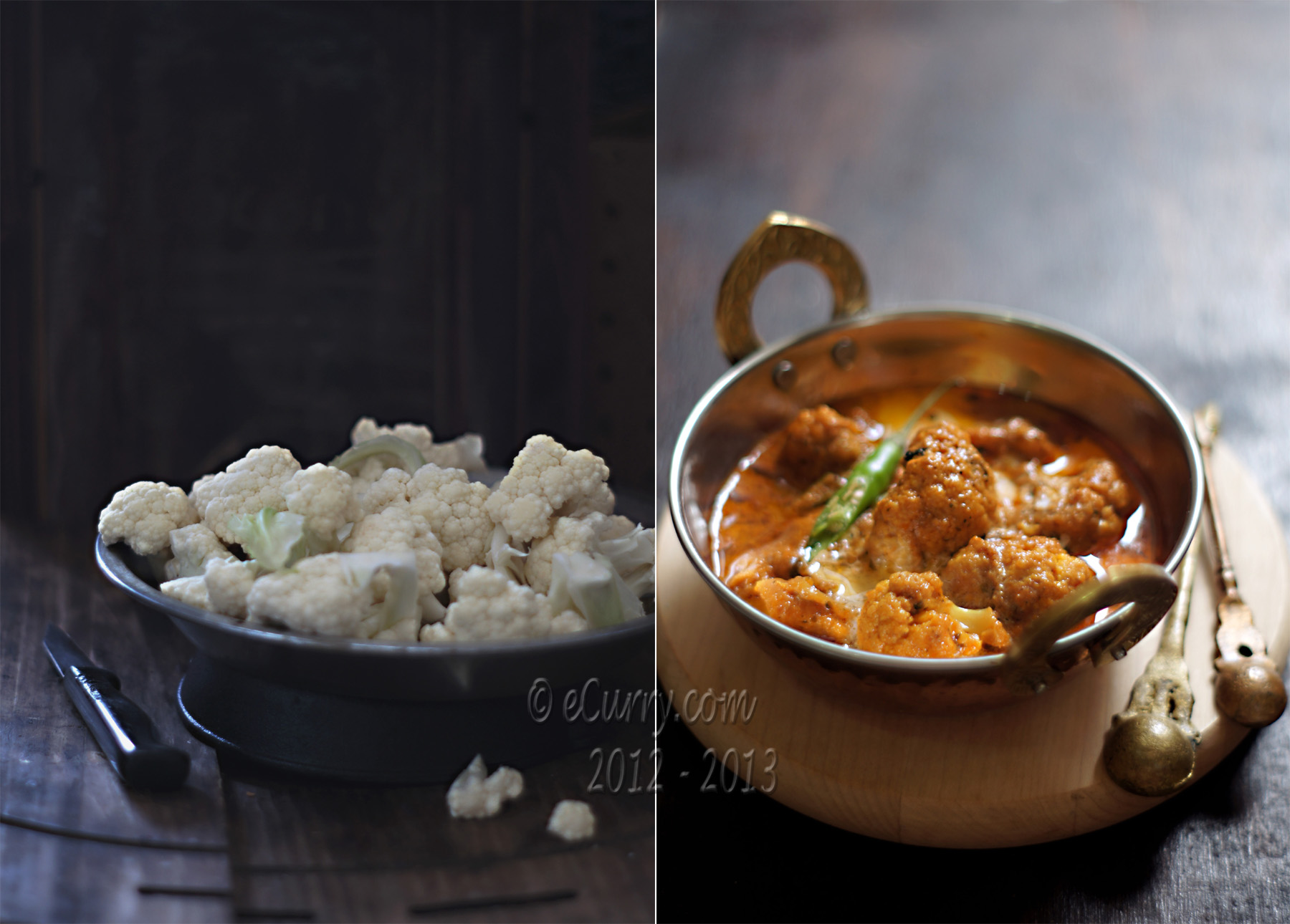 Makhani Gobi: Cauliflower in Creamy Tomato Sauce | eCurry - The Recipe ...