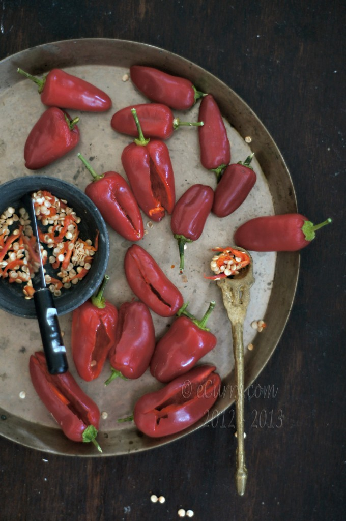 Laal-Mirch-Ka-Aachar-2 making pickle at home