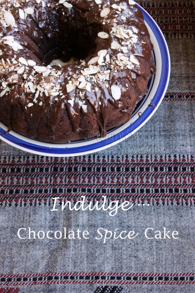 chocolate-spice - Holiday Cake