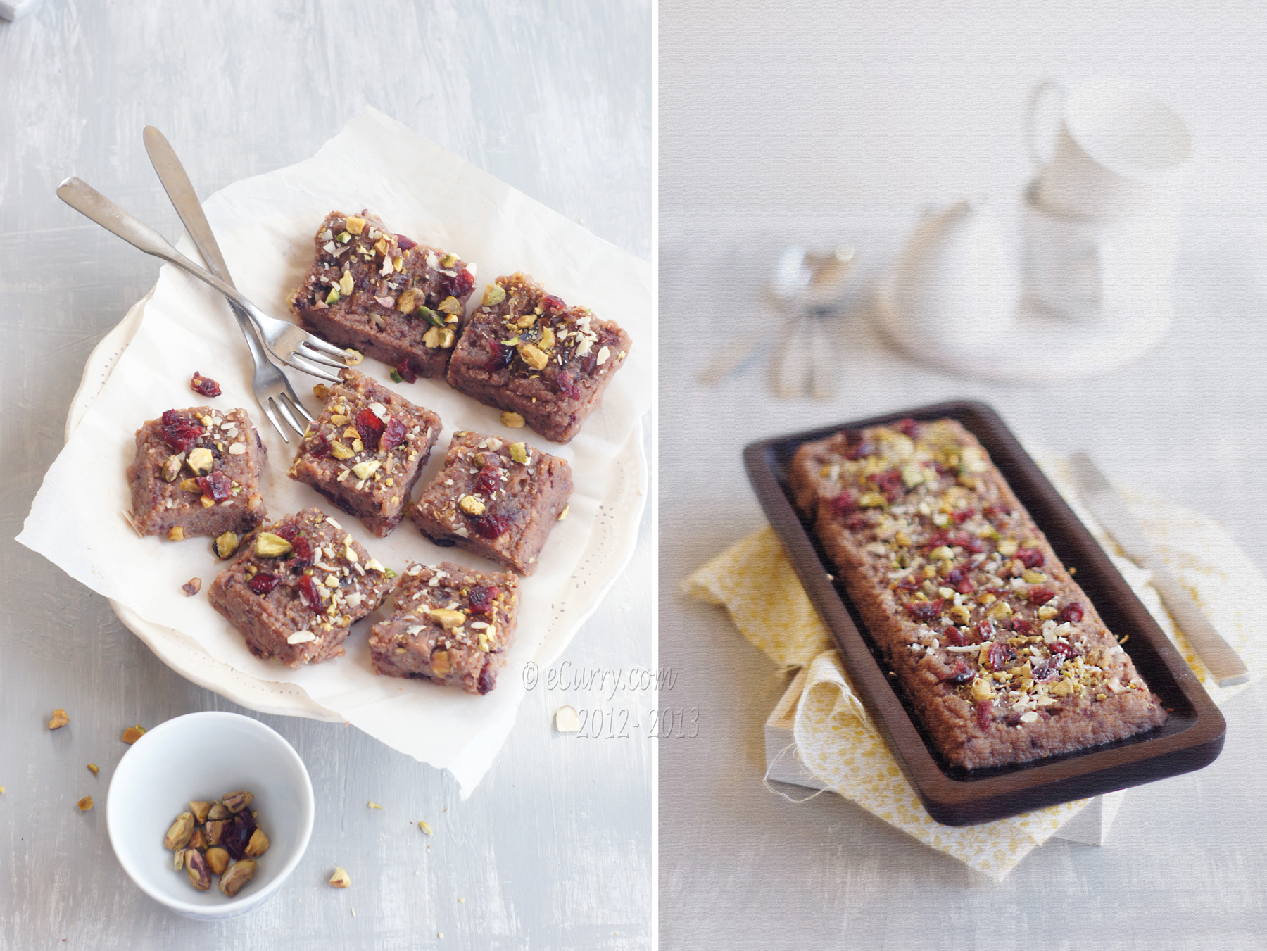 Ricotta Fudge with Dried Fruits, Nuts and Chocolate | eCurry - The ...