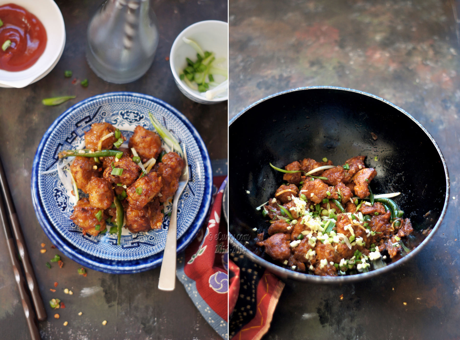 Ginger, Chilli Chicken | eCurry - The Recipe Blog