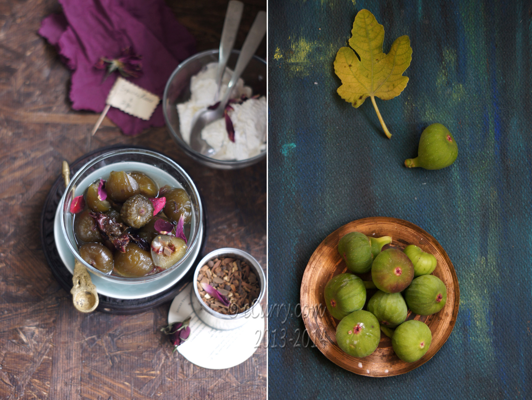 Preserved Figs Diptych 2