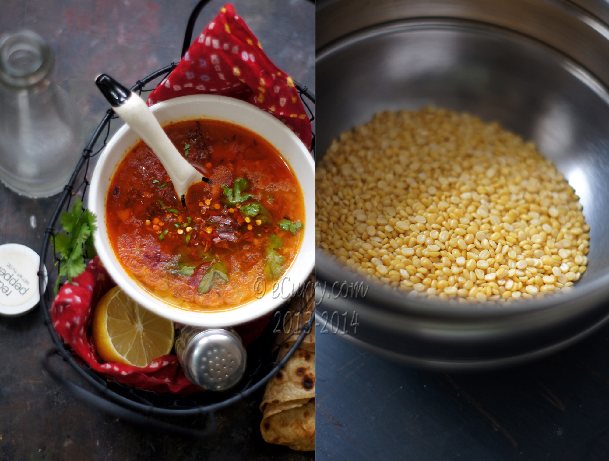 Lehsuni Moong Dal: Garlic Flavored Yellow Moong | eCurry - The Recipe ...