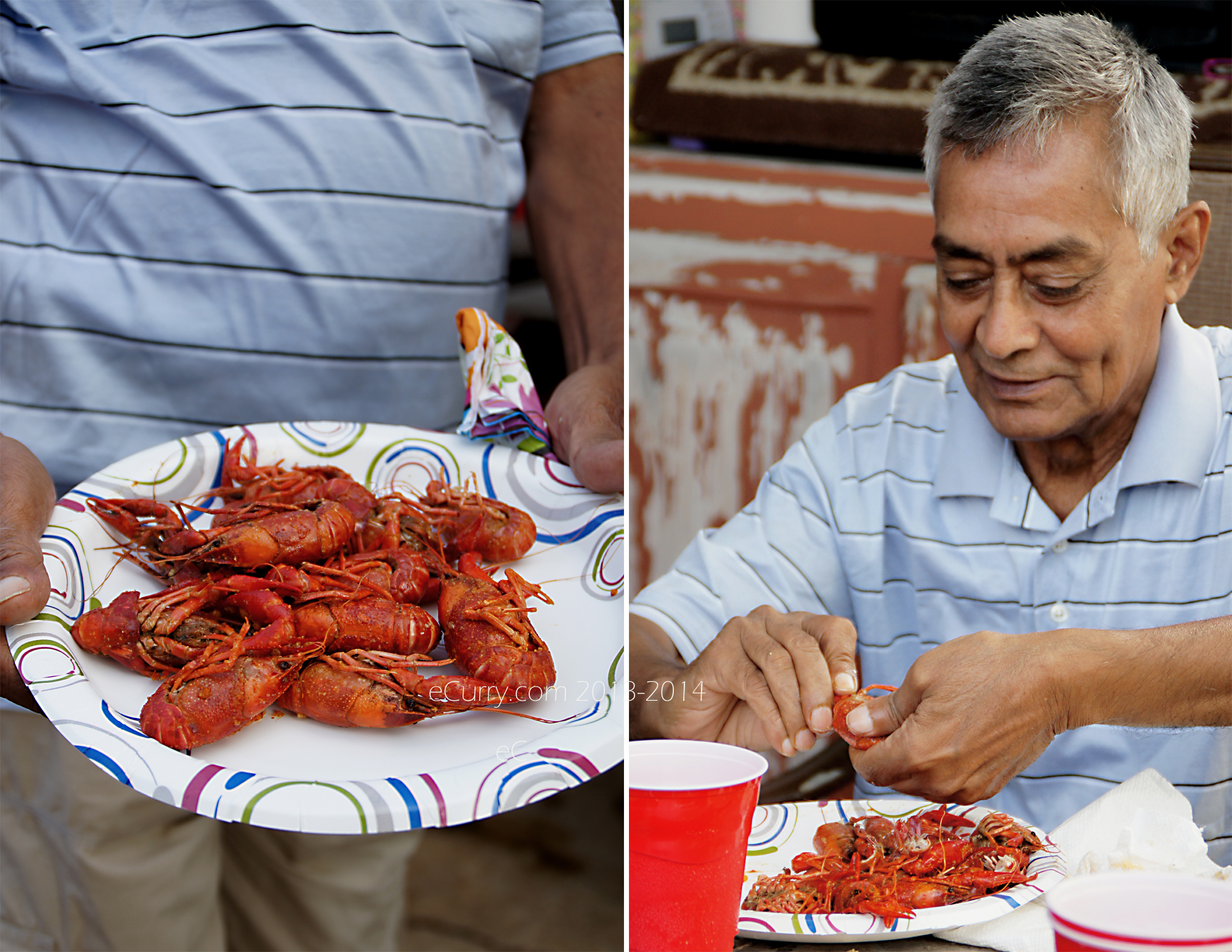 Crawfish Boil Diptych 2