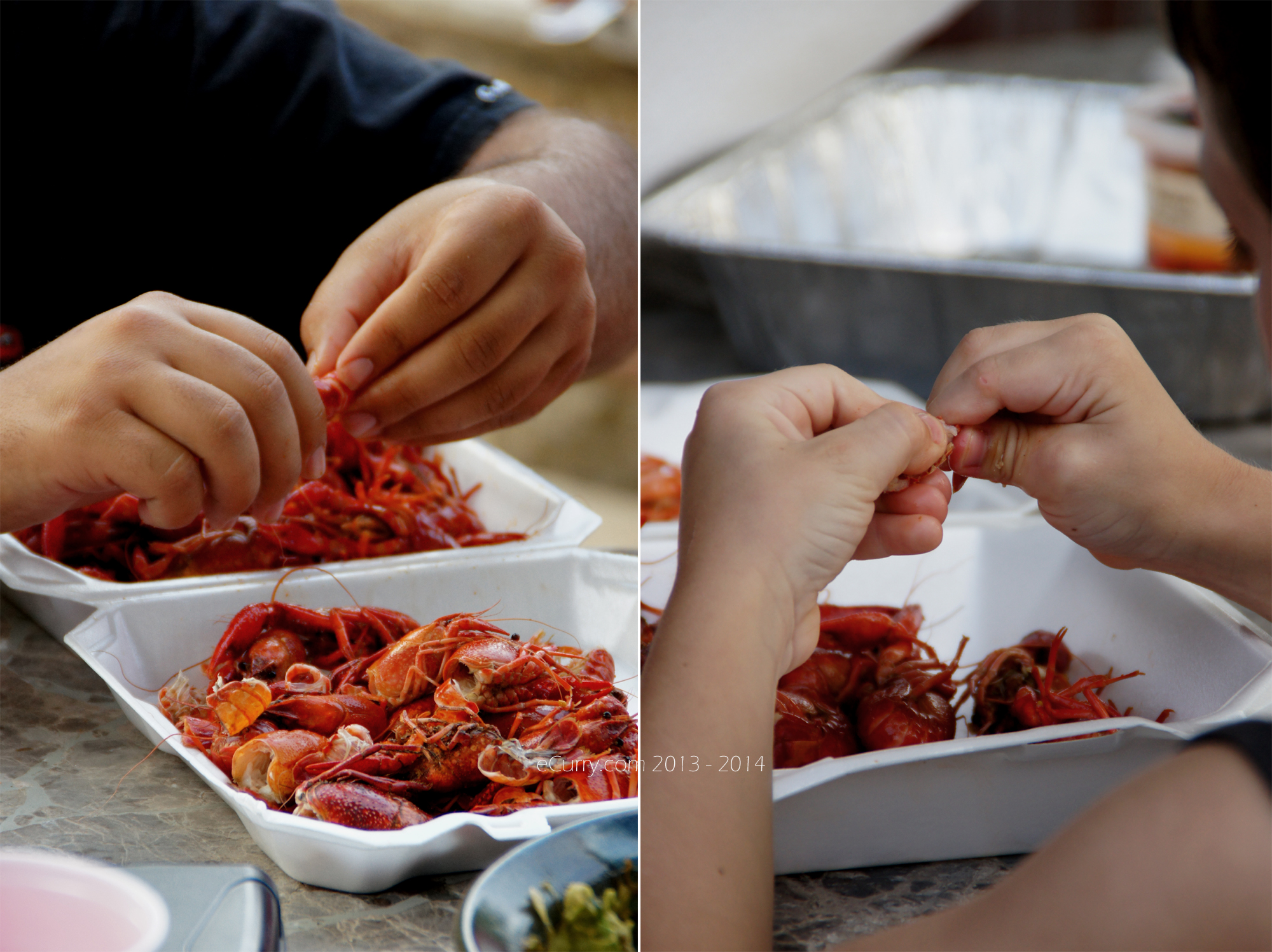 Crawfish Boil Diptych 4