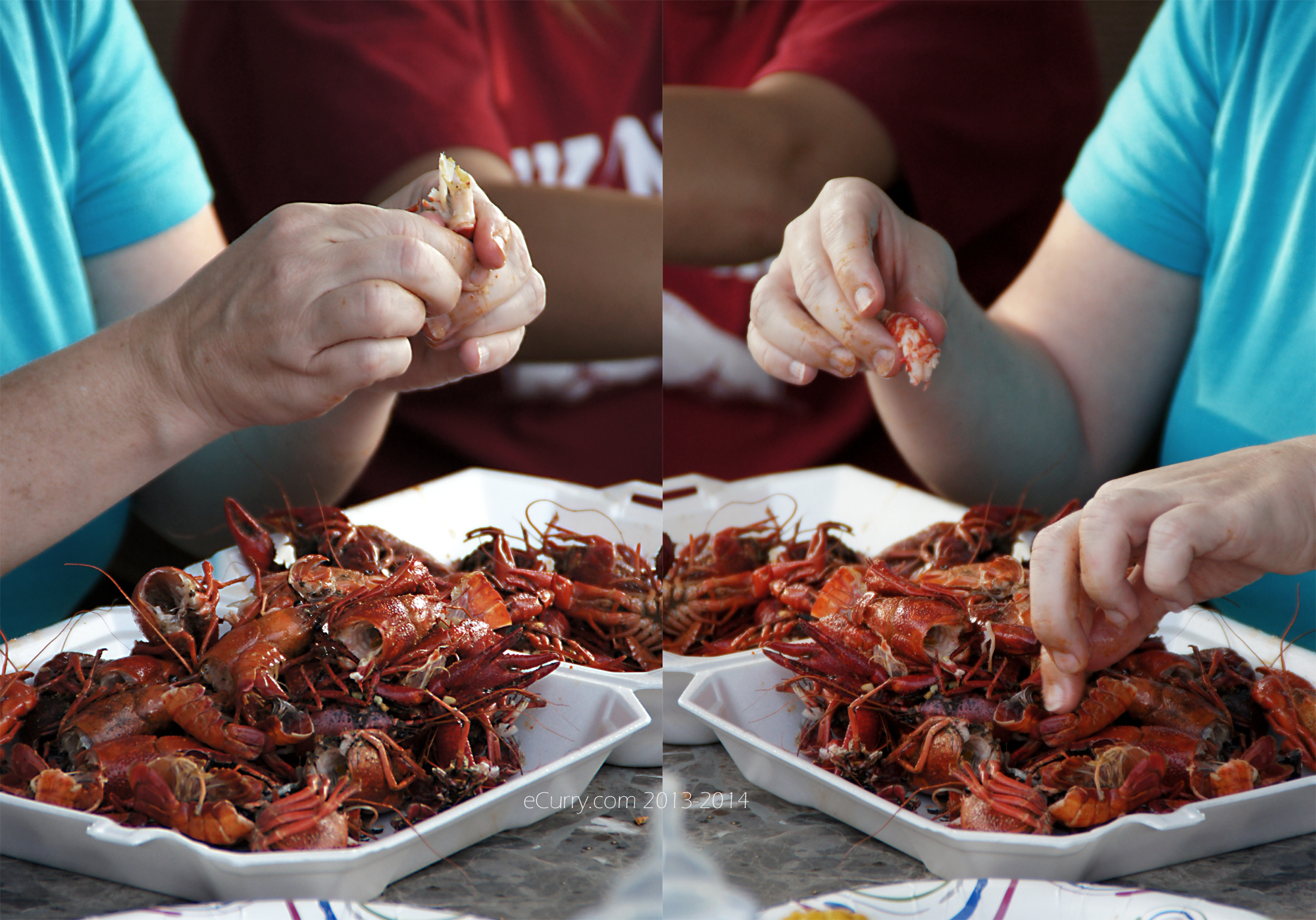 Crawfish Boil Diptych 7