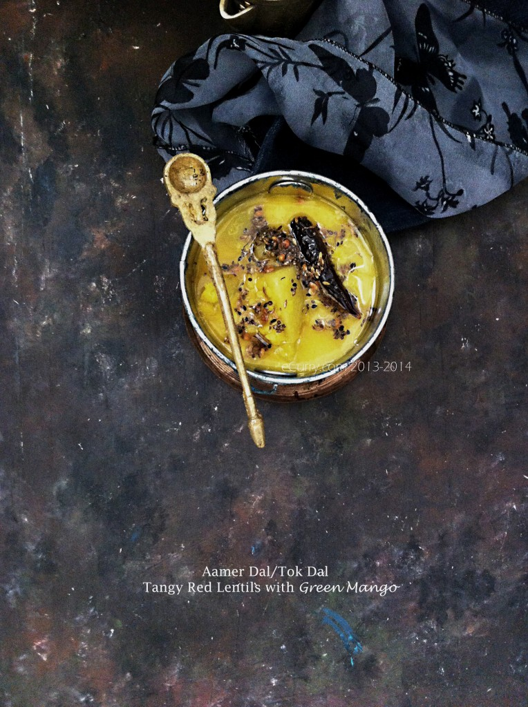 aamer dal/tok dal/red lentils with mango