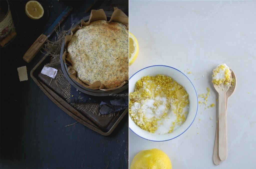 Lemon Poppy Seed Cake Diptych 2