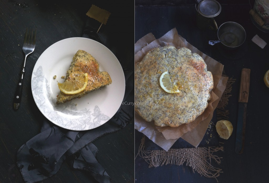 Lemon Poppy Seed Olive Oil Cake Diptych 1