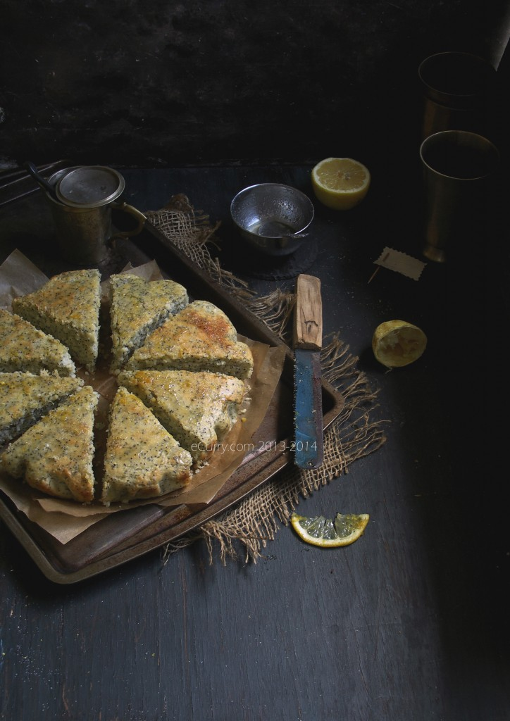 Lemon, Olive oil, Poppy Seed Cake