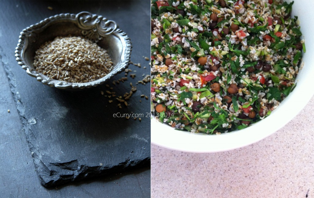 Tabbouleh Diptych 1