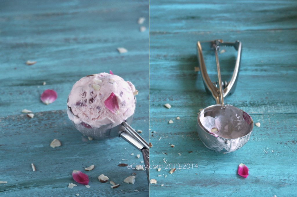Rose Flavored Ice Cream Diptych 1