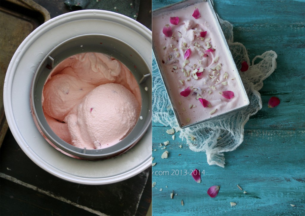 Rose Flavored Ice Cream Diptych 2