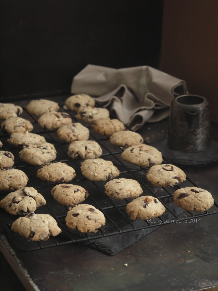 Almond, Nigella & Pepper Cocktail Cookies Recipe — Dishmaps
