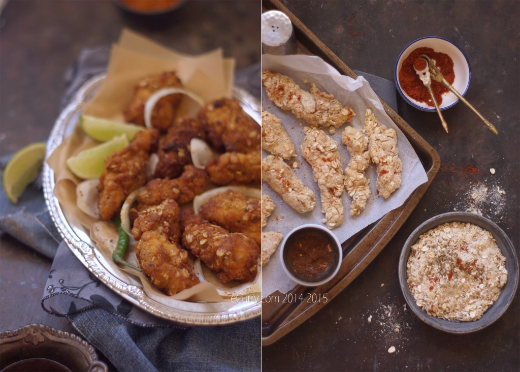 Chicken Strips Diptych 1