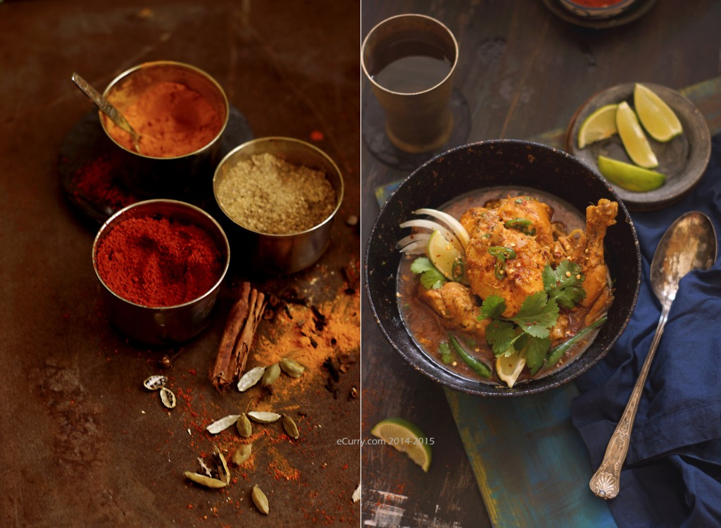 Cornish Hen Curry Diptych 2