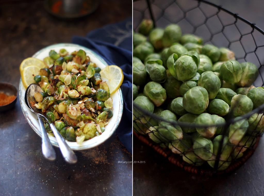 Brussels Sprouts Diptych_eCurry 1
