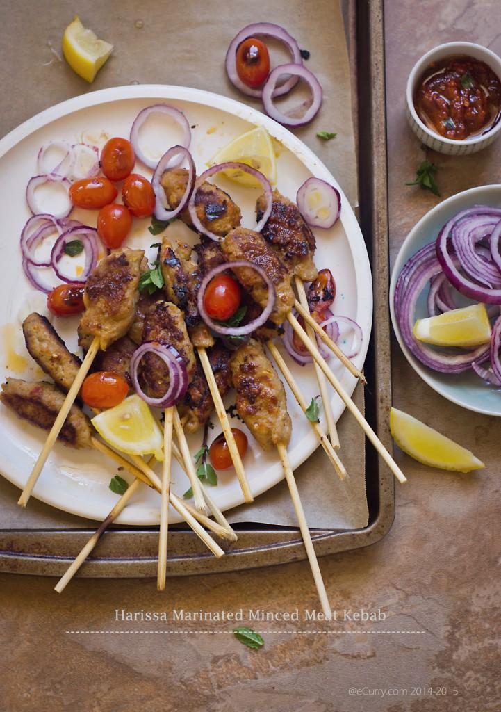 Harissa Marinated Kebab 1