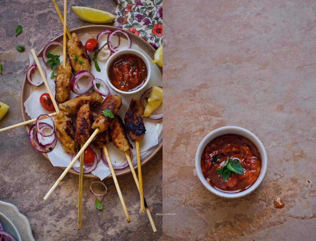 Harissa Marinated Kebab Diptych 1