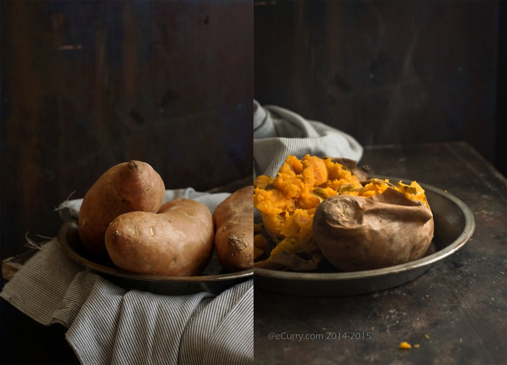 Sweet Potato Diptych 1