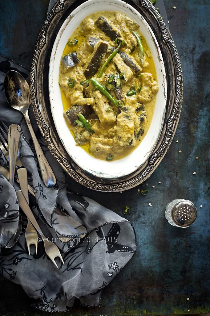 Eggplant in Tahini & Mustard Sauce 1