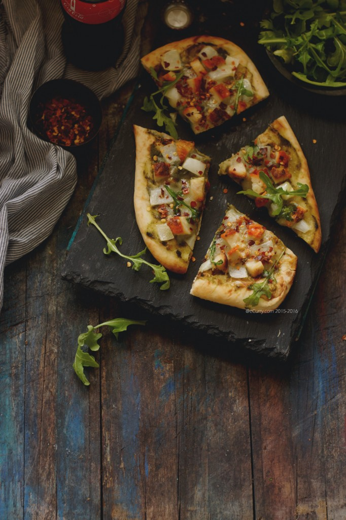 Chicken Tikka Naan Pizza 7487_8