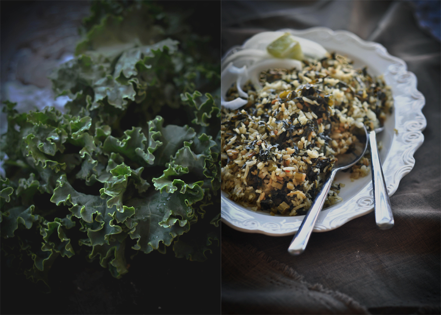 Kale Rice Diptych_1