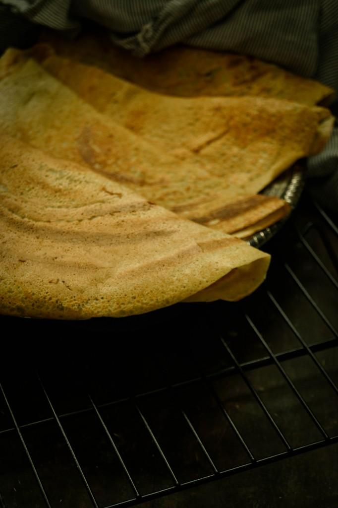 Savory Quinoa Crepes